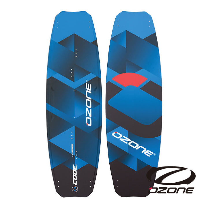 [오존] Code V1 Freeride kite board  Marine Blue