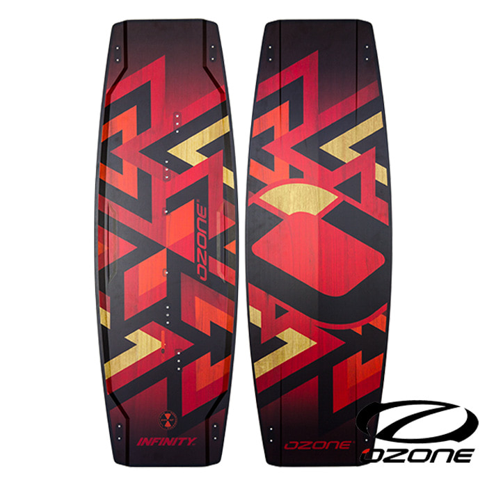 [오존] OZ INFINITY V1 Lightwind Kite Board - Light Red