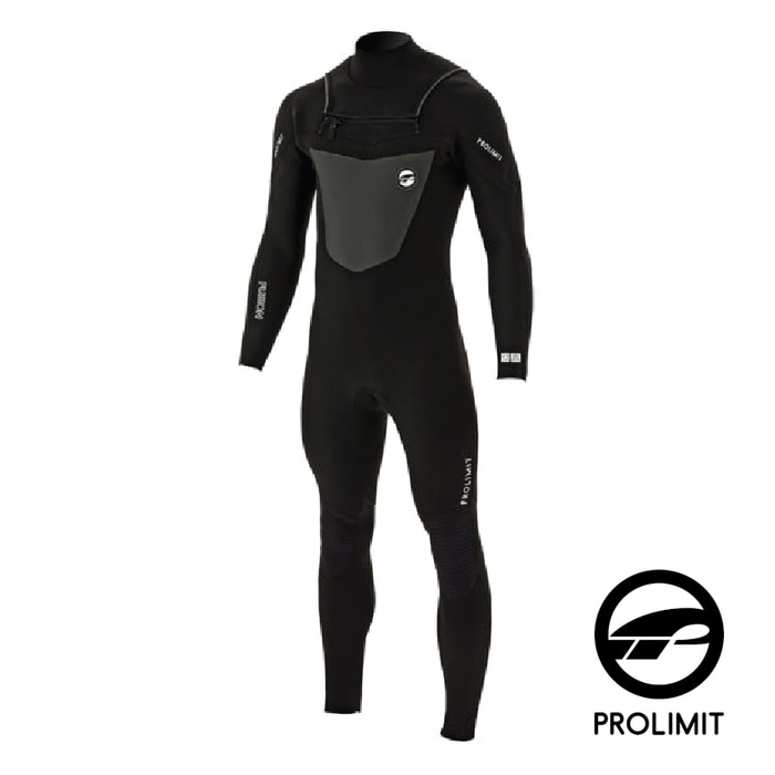 [프로리미트] 3/2mm Fusion Freezip Steamer DL GBS - Black (2018)