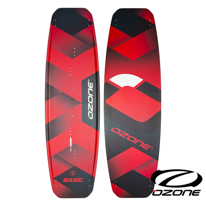 [오존] BASE V1 Kite Board - Red