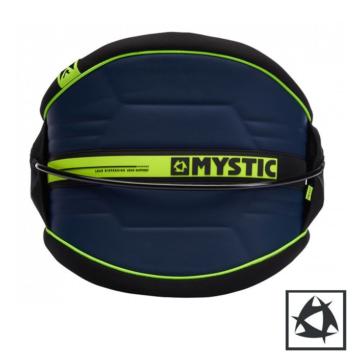 [미스틱] MS Arch Waist harness - Black & Navy/Lime